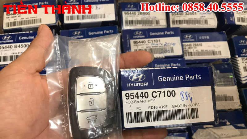 Chìa khóa xe Hyundai I20